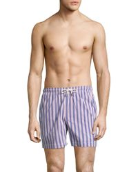 Solid & Striped - Striped Newport Shorts - Lyst