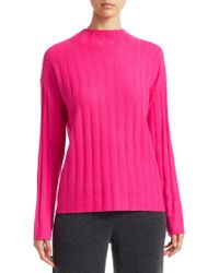 Saks Fifth Avenue - Collection Cashmere Ribbed Funnelneck Sweater - Lyst