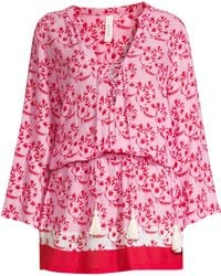 Cool Change - Chloe Floral Tunic - Lyst