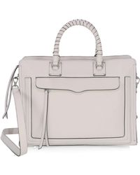 Rebecca Minkoff - Bree Large Top Zip Satchel - Lyst