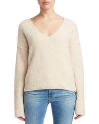 AG Jeans - Skye V Neck Sweater - Lyst