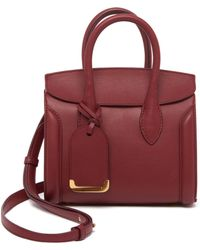Alexander McQueen - Heroine Leather Shopper 30 - Lyst