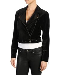PAIGE - Shanna Moto Jacket - Lyst