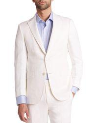 Saks Fifth Avenue - Samuelsohn Classic-fit Silk & Linen Sportcoat - Lyst