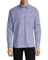Barbour - Beluga Cotton Button-down Shirt - Lyst