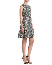 Akris Punto - Leaf Jacquard Dress - Lyst