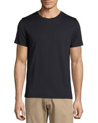 Theory - Claey Plaito Regular-fit Cotton Tee - Lyst