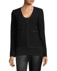 St. John - Boucle-knit Jacket - Lyst