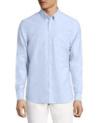 Wesc - Oden Soft Oxford Button-down Shirt - Lyst
