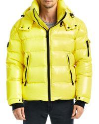 Sam. - Glacier Steel Puffer Jacket - Lyst