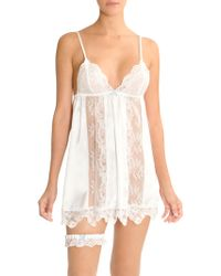 In Bloom - Here Comes The Bride Chemise - Lyst