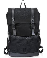 Balmain - Leather Climb Backpack - Lyst