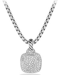 David Yurman - Albion Pendant With Diamonds - Lyst