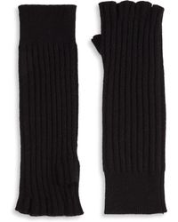 Saks Fifth Avenue | Knitted Cashmere Gloves | Lyst