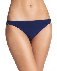 Shoshanna - Solid Bikini Bottom - Lyst