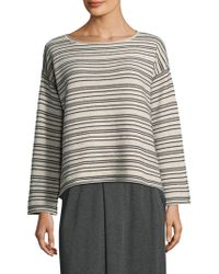 Eileen Fisher - Peppered Jumper - Lyst