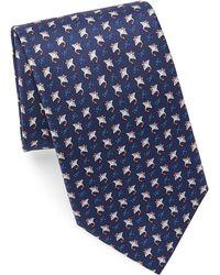 Ferragamo - Silk Stingray Tie - Lyst