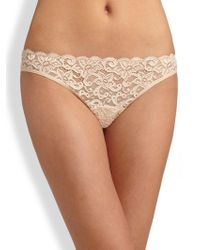 Hanro - Luxury Moments Lace Briefs - Lyst