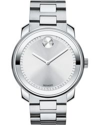 Movado - Bold Stainless Steel Watch - Lyst