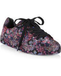 Schutz - Oriana Printed Low-top Sneakers - Lyst