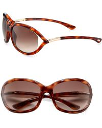 Tom Ford - Jennifer 61mm Oval Sunglasses/havana - Lyst