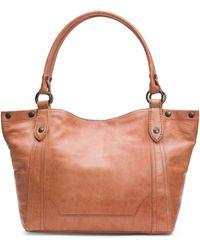 Frye - Melissa Leather Shoulder Bag - Lyst