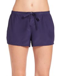 Sleepy Jones - Silk Paloma Shorts - Lyst