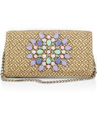 Eric Javits - Devi Embellished Shoulder Bag - Lyst