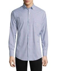 Peter Millar - Smedes Performance Check Button-down Shirt - Lyst
