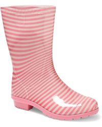 UGG - Kid's Striped Boots - Lyst