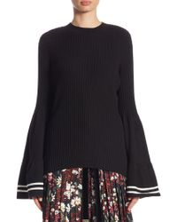Mother Of Pearl - Corinne Bell Sleeve Sweater - Lyst