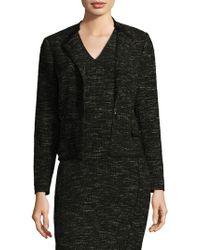 L.K.Bennett - Joyce Tweed Jacket - Lyst