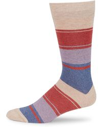 Saks Fifth Avenue - Collection Mid-calf Blended Stripe Socks - Lyst