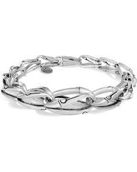 John Hardy - Bamboo Sterling Silver Link Bracelet - Lyst