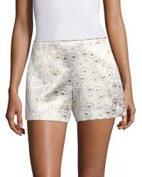 Trina Turk | Link Jacquard Shorts | Lyst