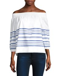 Vineyard Vines - Breaker Off-the-shoulder Top - Lyst