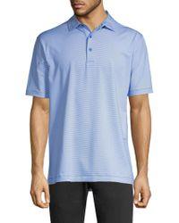 Peter Millar - Jubilee Stripe Stretch Polo Shirt - Lyst