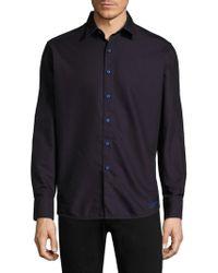 Robert Graham - Spruce Cotton Button-down Shirt - Lyst