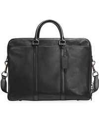 COACH - Metropolitan Leather Briefcase - Lyst