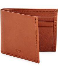 Shinola - Men's Leather Bifold Wallet - Ocean - Lyst