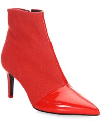 Rag & Bone - Beha Point-toe Leather Ankle Boots - Lyst