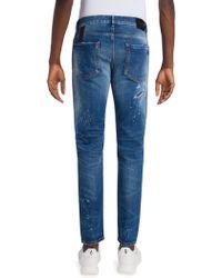 Cheap 100% Original distressed jeans - Blue Marcelo Burlon Sale Cheap Online nOufhVc2