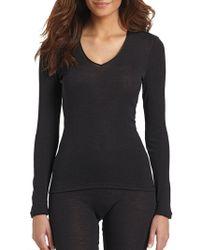 Hanro | Woolen Silk Long Sleeve Shirt | Lyst