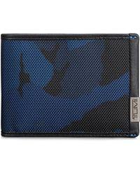 Tumi - Double Bi-fold Wallet - Lyst