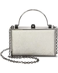 Whiting & Davis - Band Street Clutch - Lyst
