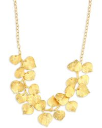 Kenneth Jay Lane - Branch And Leaf Necklace - Lyst