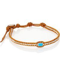 Chan Luu - Turquoise & Silver Bracelet - Lyst