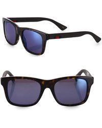 Gucci - 53mm Square Sunglasses - Lyst