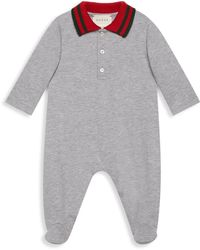 Gucci - Baby's Polo Footie - Lyst