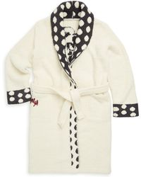 Barefoot Dreams - Little Girl's & Girl's Minnie Mouse Polka-dot Flannel Robe - Lyst